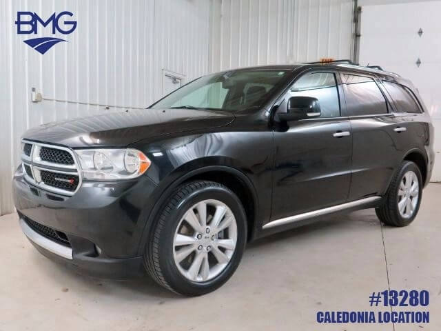2013 dodge durango crew awd suv broadmoor motors group. Black Bedroom Furniture Sets. Home Design Ideas