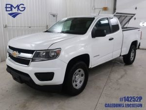 2017 Chevrolet Colorado Work Truck Ext Cab 4wd Pickup